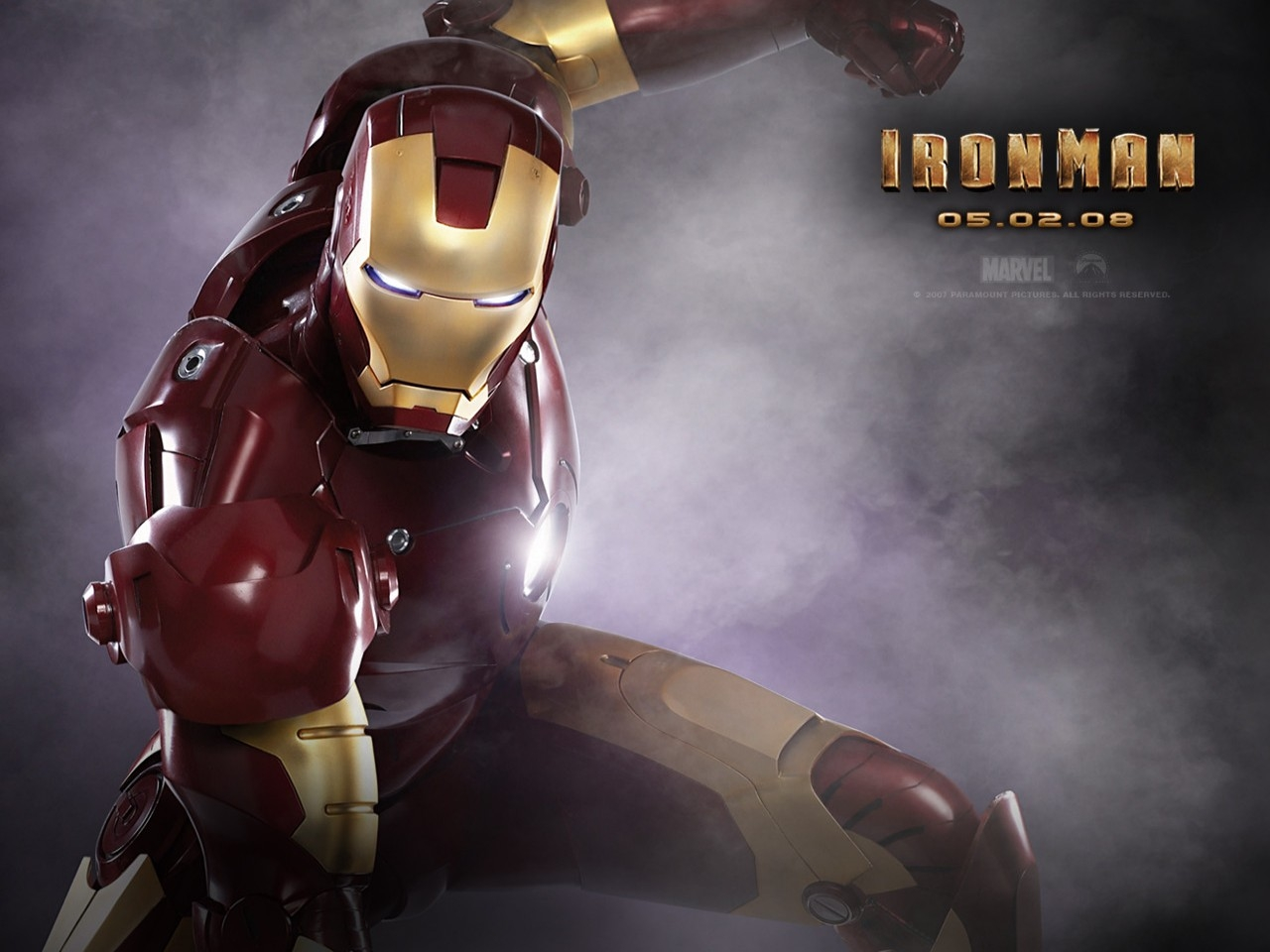 Wallpaper del film Iron Man (2008)