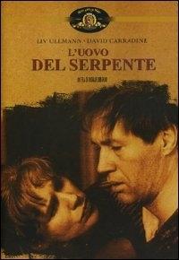 La copertina DVD di L'uovo del serpente