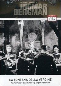 La copertina DVD di La fontana della vergine