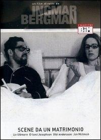 La copertina DVD di Scene da un matrimonio