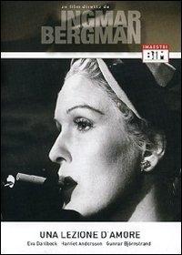 La copertina DVD di Una lezione d'amore
