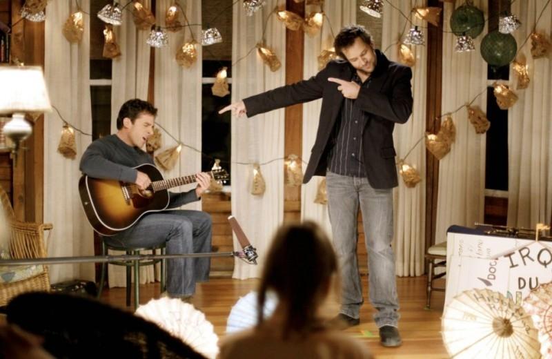 Steve Carell con Dane Cook nel film L'amore secondo Dan