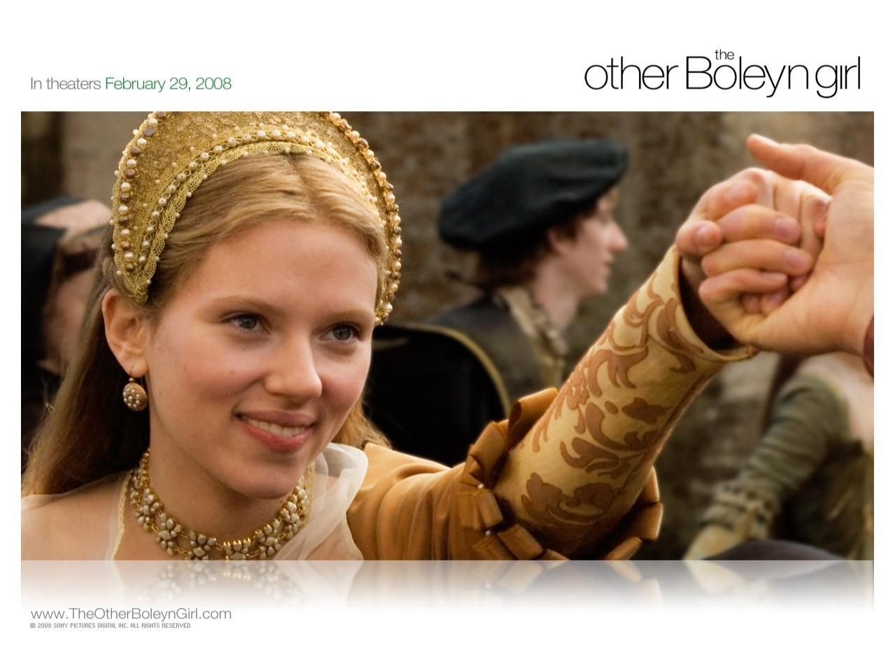 Wallpaper del film L'altra donna del re con Scarlett Johansson