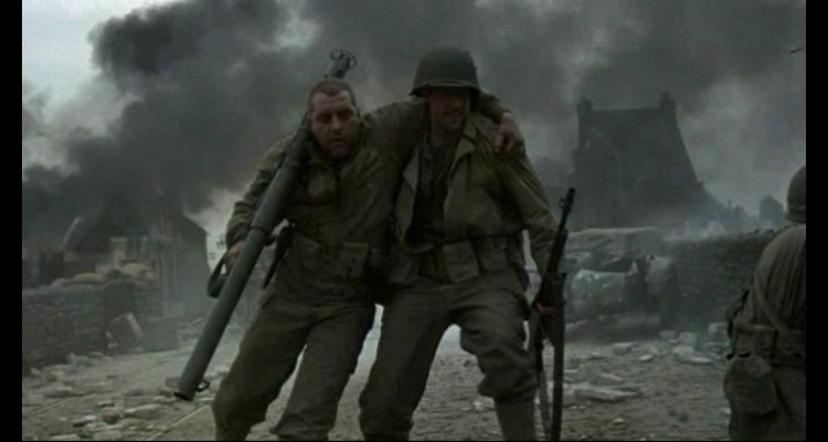 the realism in the film saving private ryan Not having been there, but having read a number of books on d-day or that included d-day in them i though the first 20 minutes of saving private ryan were probably about is realistic as you can get in a movie theater.