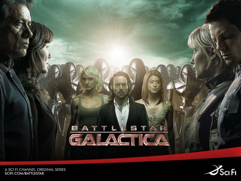 Wallpaper della Stagione 3 di Battlestar Galactica