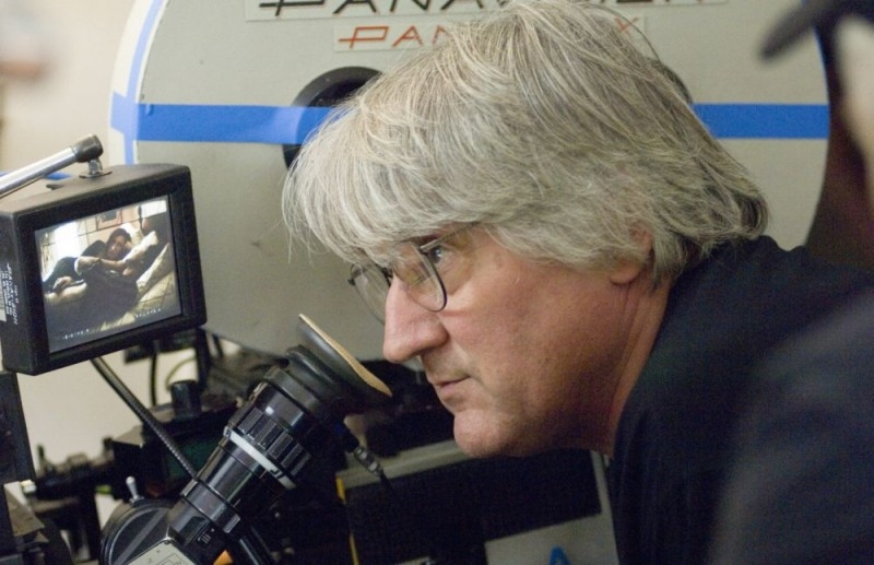 Il regista Lajos Koltai sul set del film Un amore senza tempo