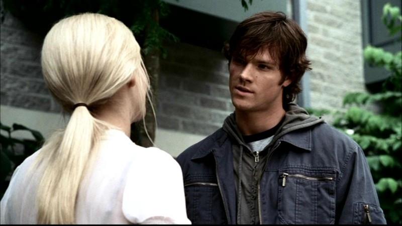 Jared Padalecki dice addio alla sua amica del college, Amy Grabow, sapendo di non poter più tornare a quella vita, nell'episodio 'Questione di pelle'