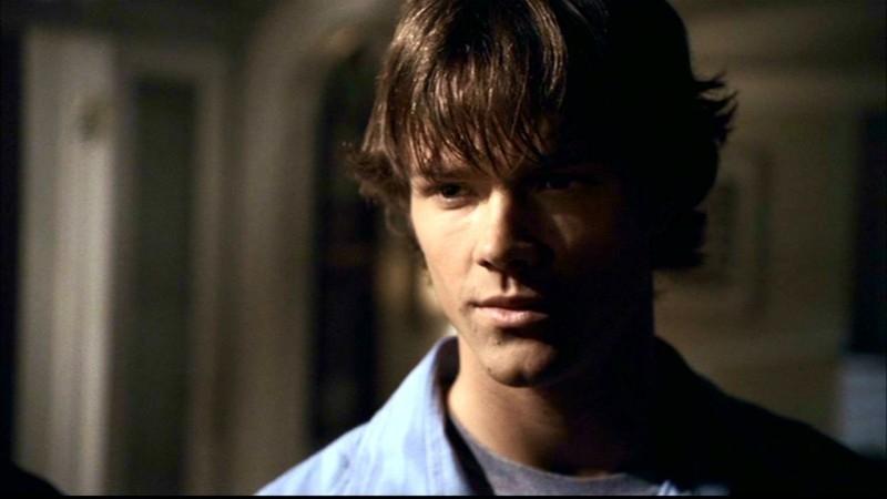 Jared Padalecki nel ruole di Sam Winchester nell'episodio 'Skin'