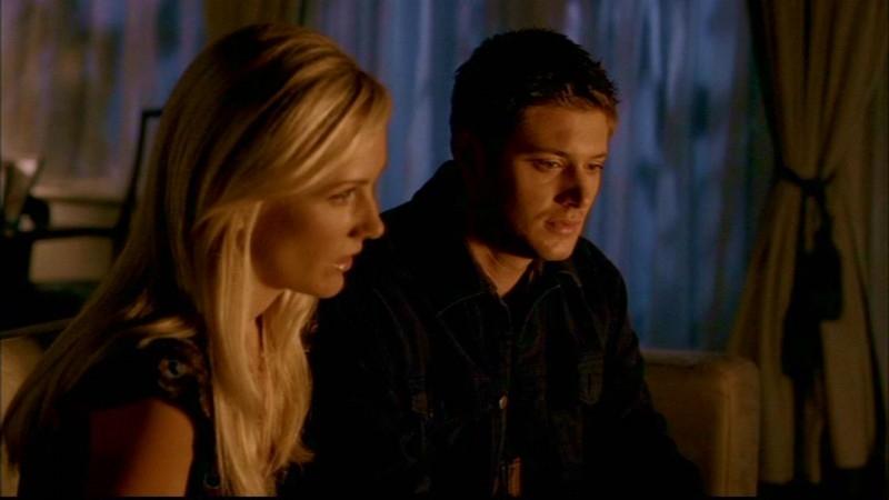 Jensen Ackles e Amy Grabow nell'episodio 'Skin'
