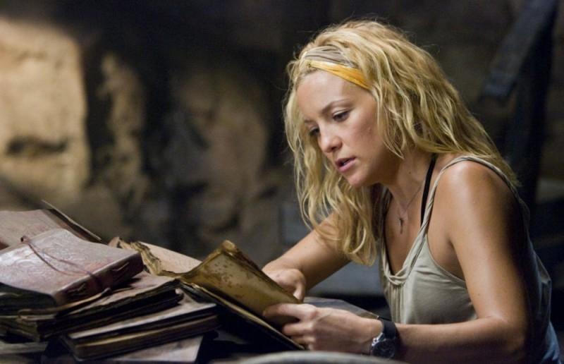 Kate Hudson in una scena dell'avventuroso Tutti pazzi per l'oro