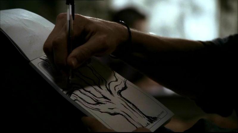 L'albero che Sam Winchester vede nei suoi incubi nell'episodio 'Ritorno a casa'