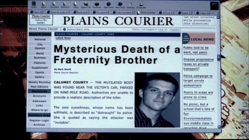 L'articolo che da il via alla caccia in 'Hookman' di Supernatural