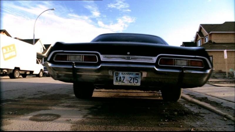 La Chevy Impala mentre si prepara a macinare altri chilometri di asfalto in 'Bugs'