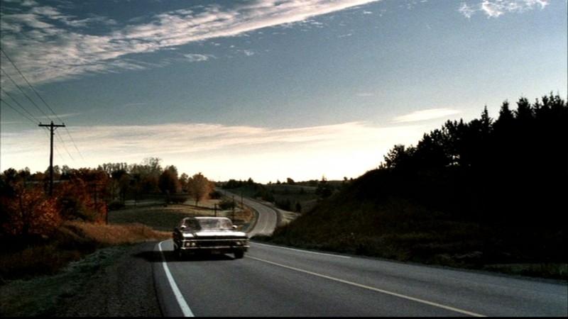 La fedele Impala sulle highways americane in Supernatural