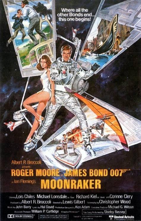 La locandina di Agente 007, Moonraker: operazione spazio