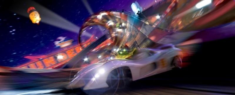 Gli spettacolari effetti visivi di Speed Racer