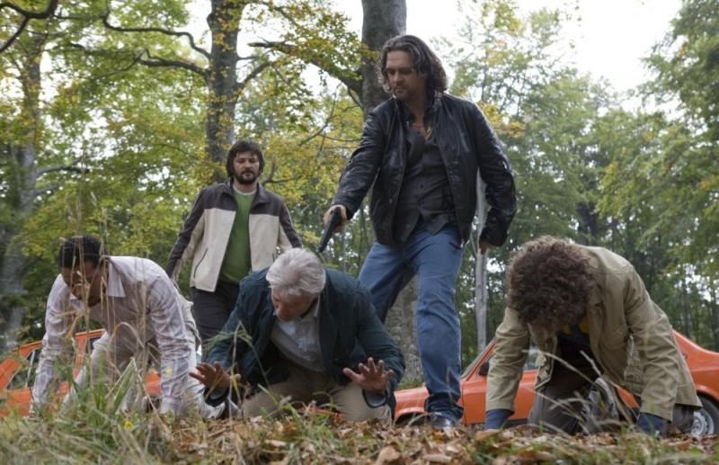 Una scena del film The Hunting Party