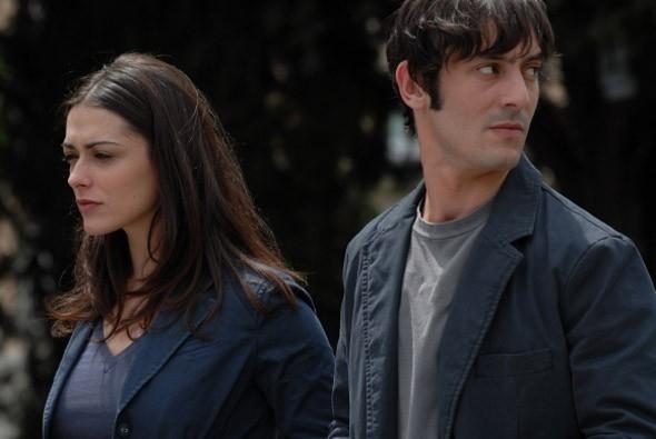 Valentina Lodovini e Marco Foschi in una scena del film Riprendimi