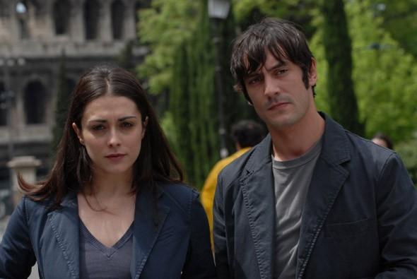 Valentina Lodovini e Marco Foschi in una sequenza del film Riprendimi