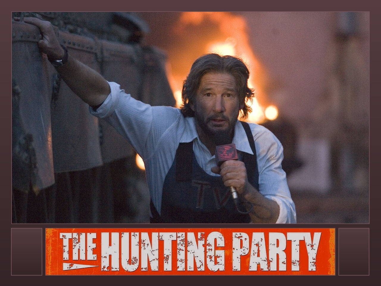 Wallpaper del film The Hunting Party con Richard Gere