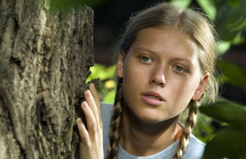Aleksandra Manasijevic in una scena del film Gucha