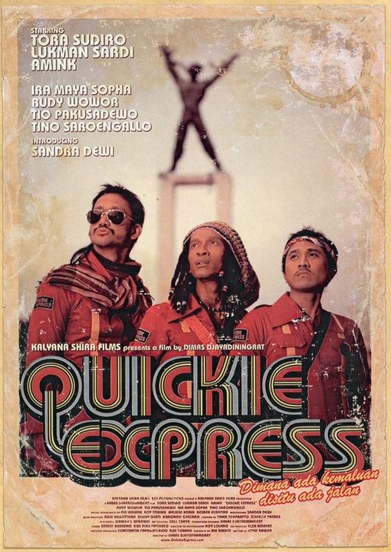 La locandina di Quickie Express
