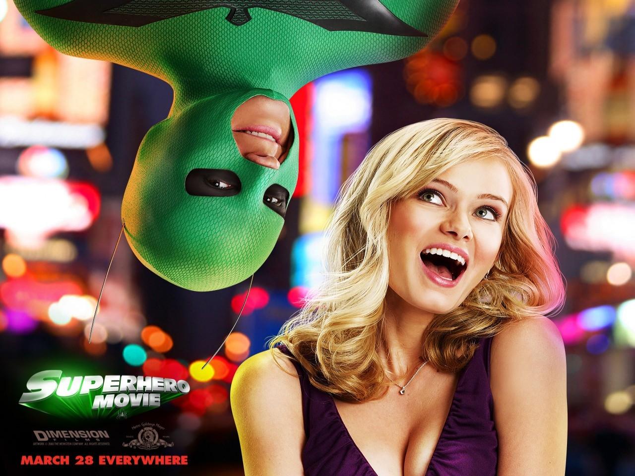 Wallpaper del film Superhero - Il più dotato fra i supereroi