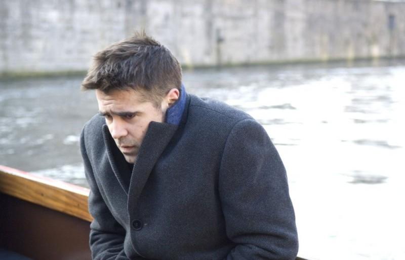 Colin Farrell in una scena del film In Bruges