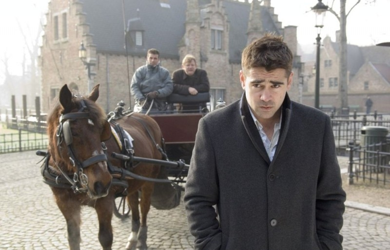 Colin Farrell nel film In Bruges