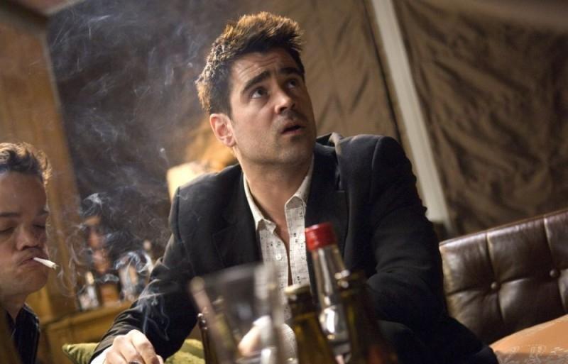 Colin Farrell in una scena del film In Bruges - La coscienza dell'assassino