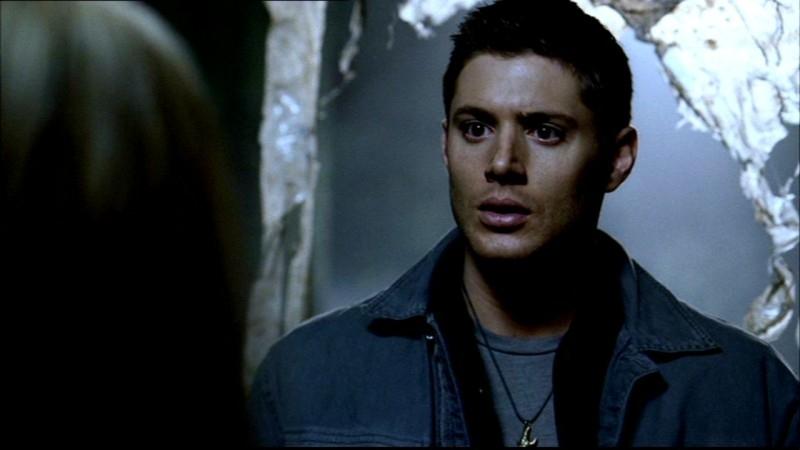 Dean, interpretato da Jensen Ackles, scopre che Sam è caduto in una trappola nell'episodio 'La rivolta' di Supernatural