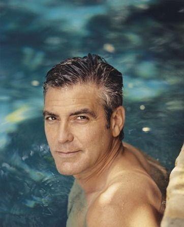 un affascinante ritratto di George Clooney