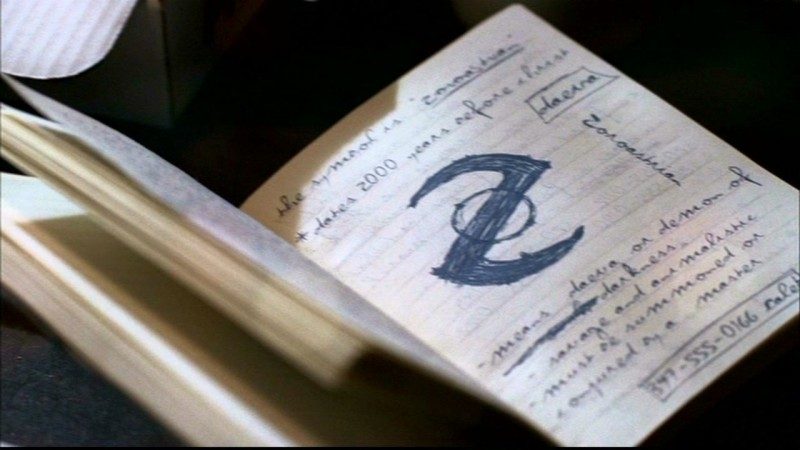 Il simbolo della dottrina di Zarathustra, usato da Meg per controllare i Daeva, i demoni Ombra