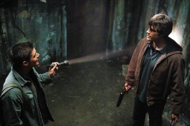 Padalecki e Ackles nell'episodio 'La rivolta' di Supernatural