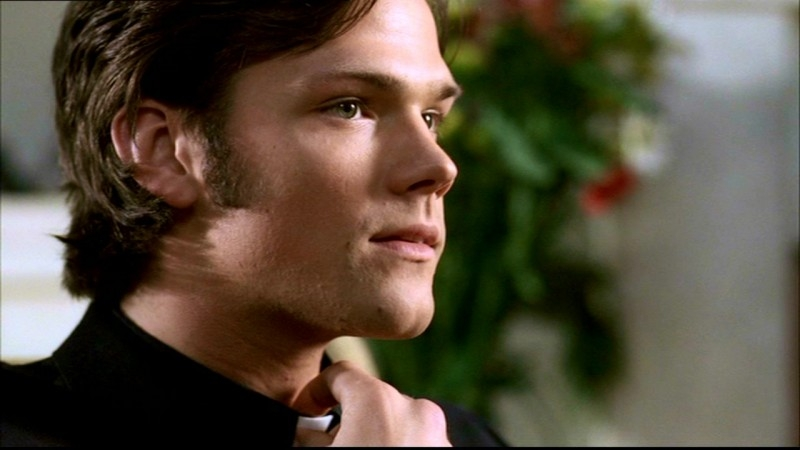 Jared Padalecki, nel ruolo di Sam, in un episodio di Supernatural: 'Incubi'