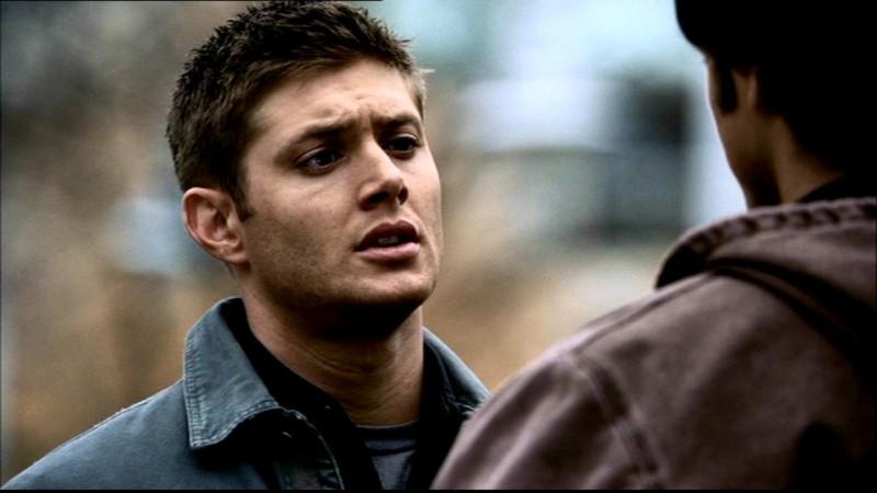 Jensen Ackels nei panni di Dean Winchester nell'episodio 'La rivolta' della serie Supernatural