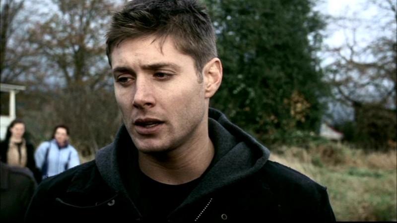 Jensen Ackles nei panni di Dean nell'episodio 'Faith' di Supernatural