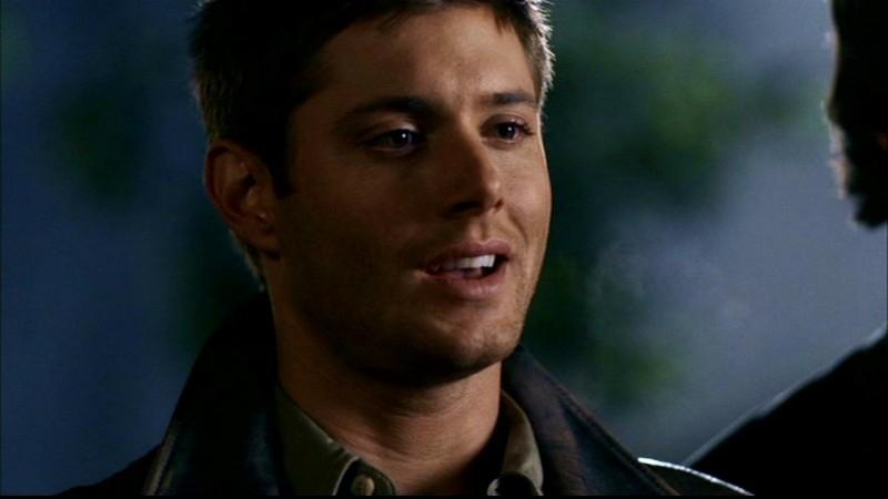 Jensen Ackles nell'episodio 'La casa infernale' di Supernatural
