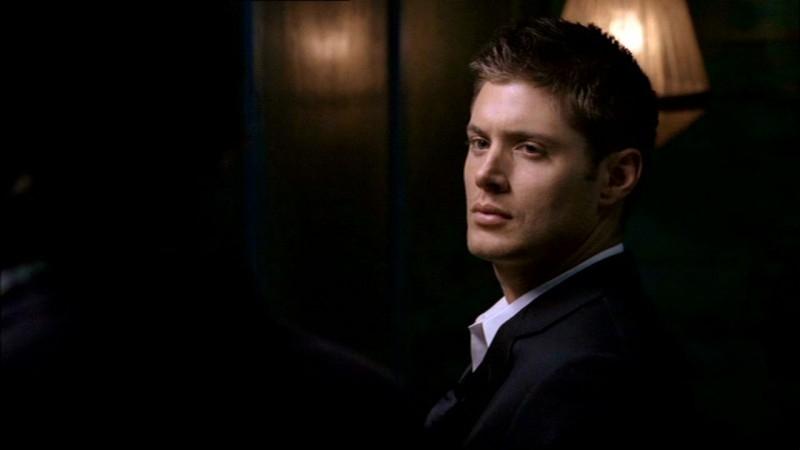 Jensen Ackles nell'episodio 'Route 666' di  Supernatural