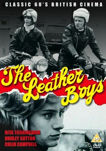 La locandina di The leather boys