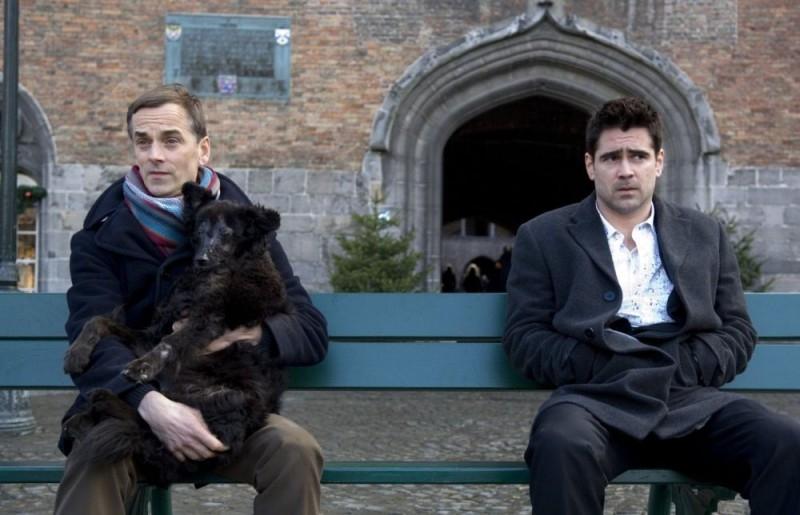 Una scena del film In Bruges (2008)