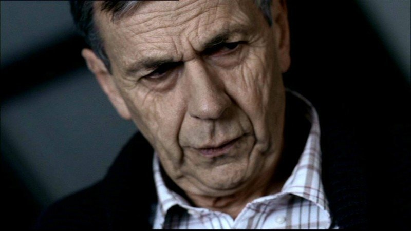 William B. Davis nell'episodio 'Lo spaventapasseri' di Supernatural