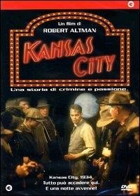 La copertina DVD di Kansas City