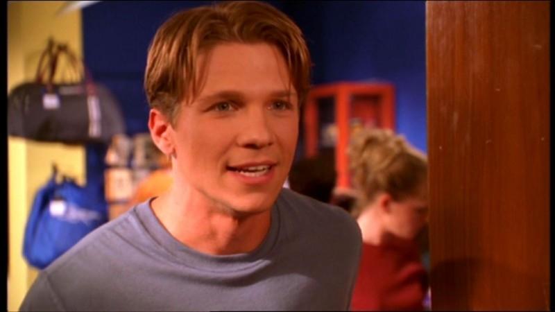 Marc Blucas in una scena dell'episodio 'La matricola' della quarta stagione di Buffy - L'ammazzavampiri