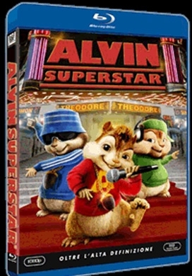 La copertina DVD di Alvin Superstar (Blu-Ray)