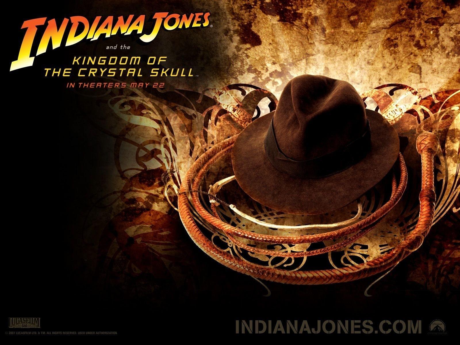 Wallpaper del film Indiana Jones e il Regno del Teschio di Cristallo