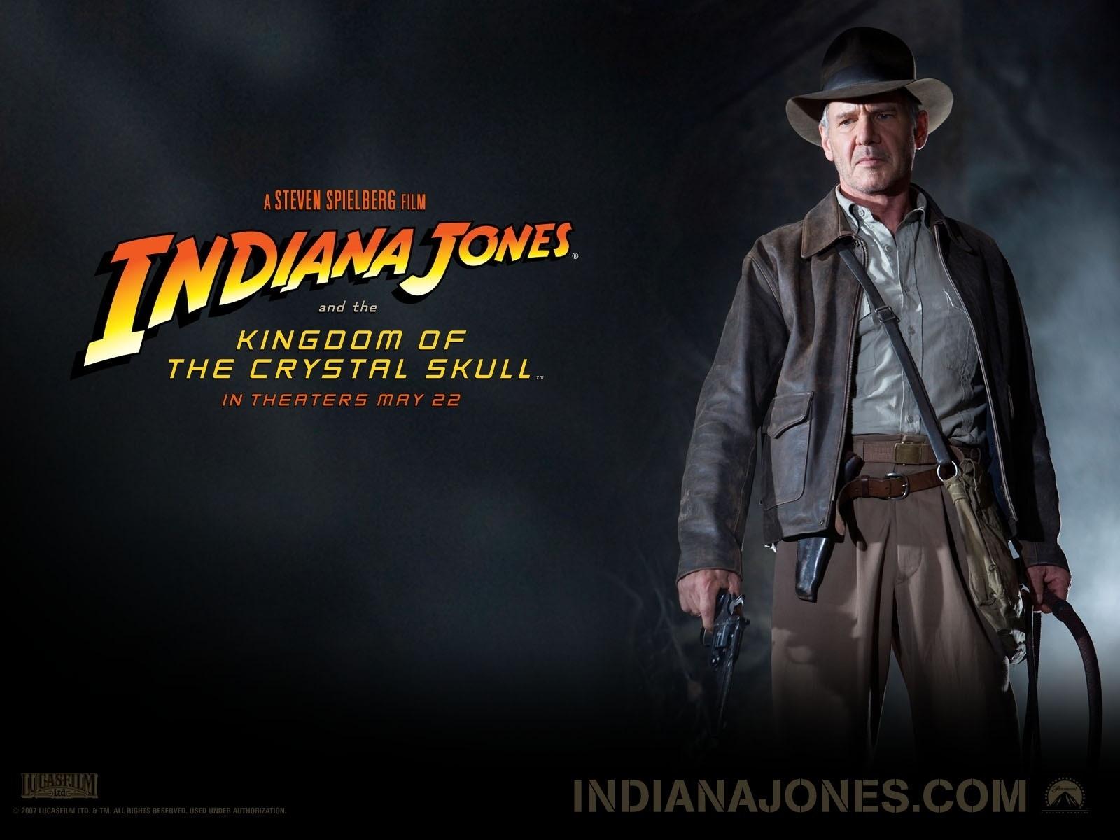 Wallpaper del film Indiana Jones e il Regno del Teschio di Cristallo (2008)