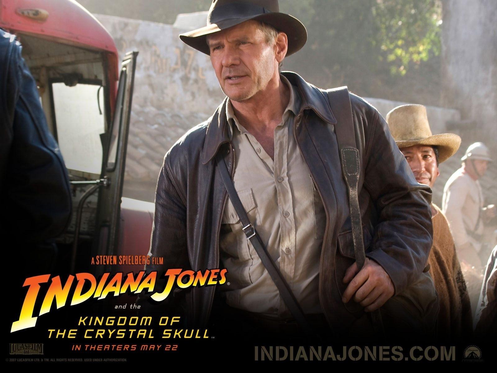 Wallpaper del film Indiana Jones e il Regno del Teschio di Cristallo del 2008