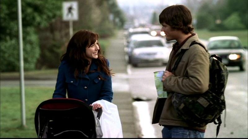 Jared Padalecki ed Erin Karpluk, nell'episodio 'Salvation' di Supernatural