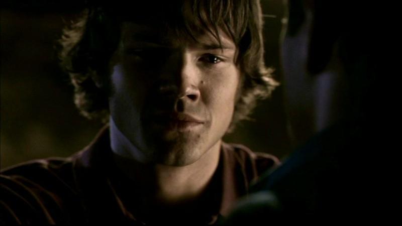 Jared Padalecki, nei panni di Sam nell'episodio 'Salvation' di Supernatural